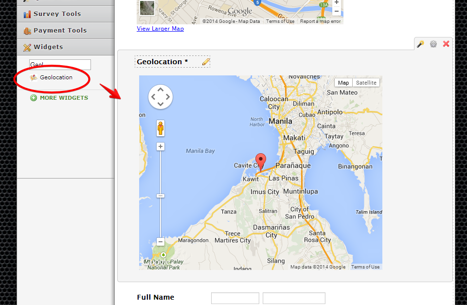 To make the google map locate your location use the geolocation