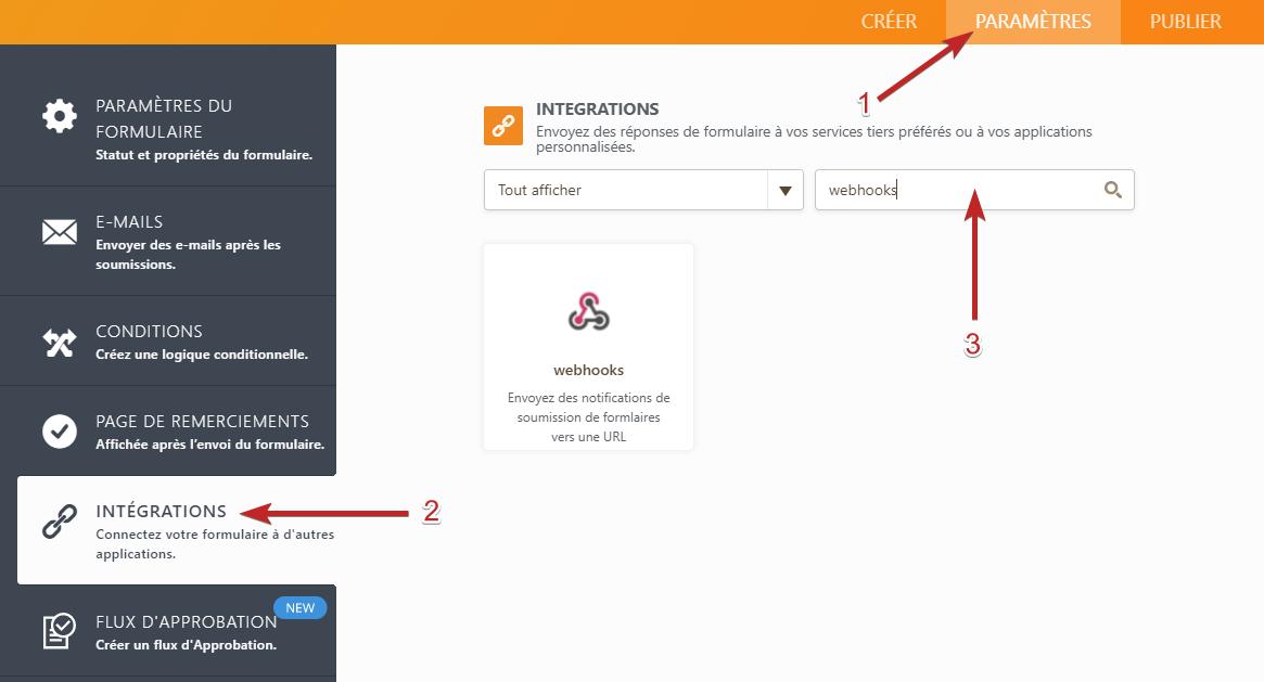 WebHooks Integration