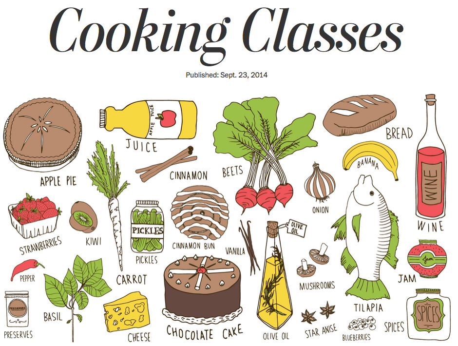 Cooking Class Illustration