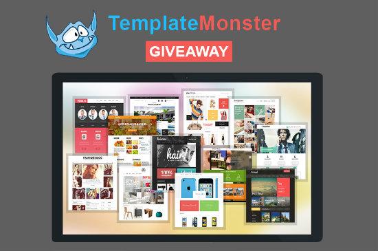 TemplateMonster Giveaway