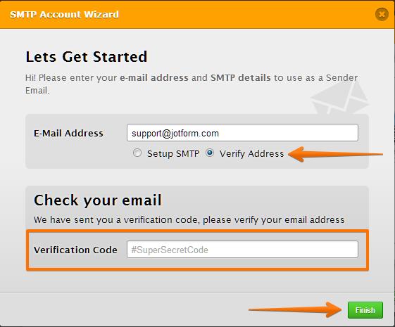 verification code deutsch