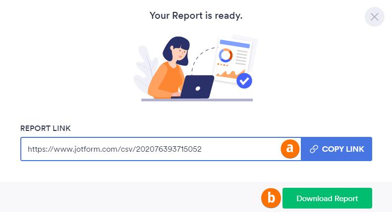 Create CSV Report Ready