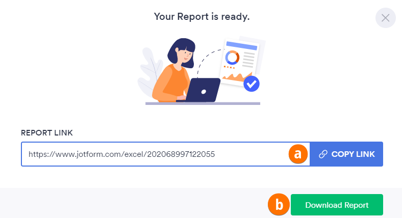 Create Excel Report Ready