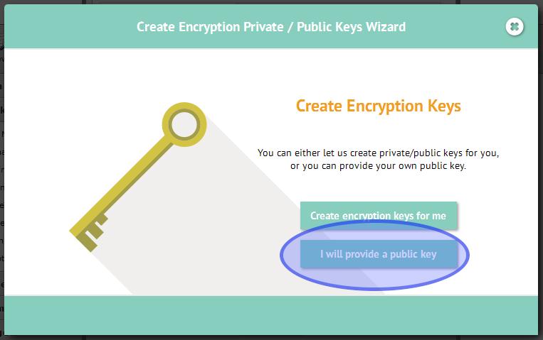 Create Keys