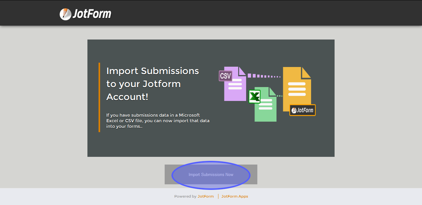 Import Adobe submissions into Jotform