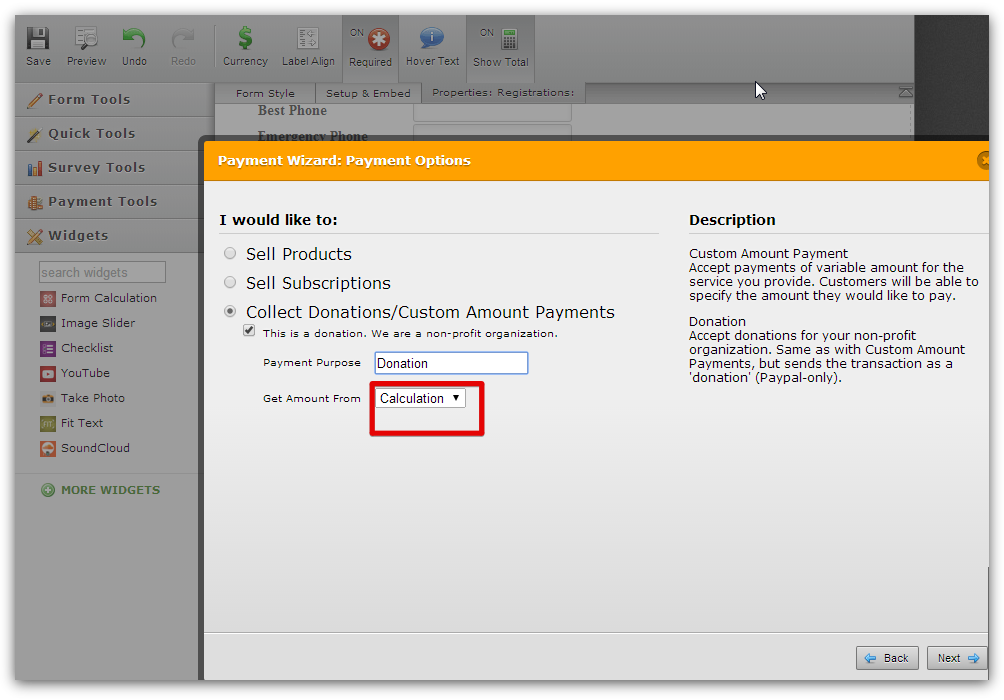 Evaluation Forms  Form Templates  JotForm