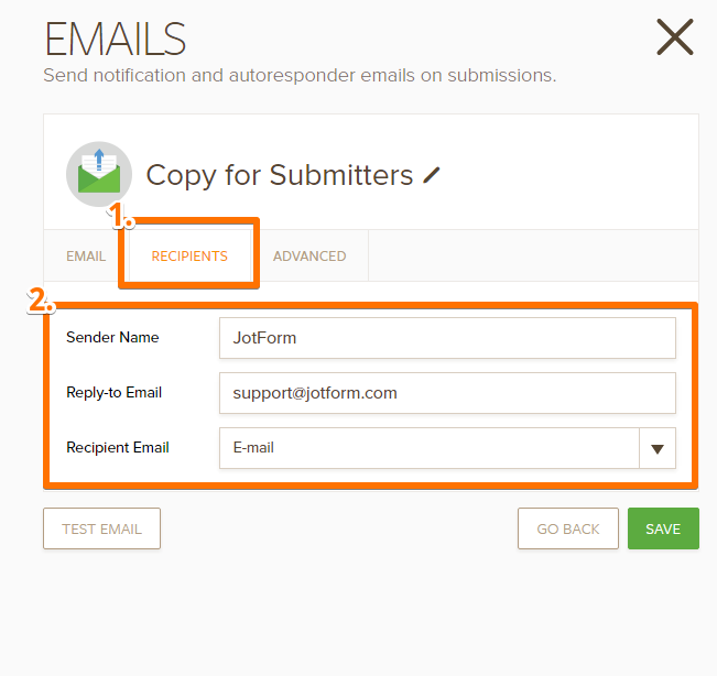How to create an email address with company name