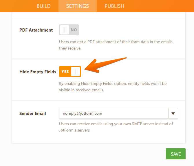 How to Hide Empty Fields on Email Alerts