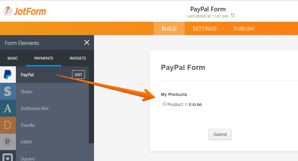 How to Create a Basic Multiple Payment form – Payment Form