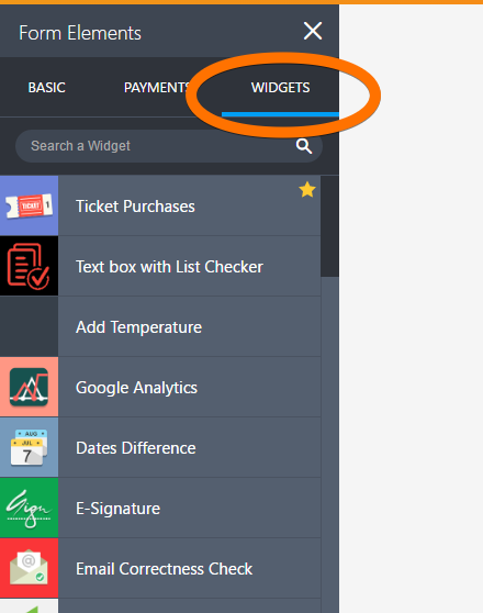 How To Add A Widget Your Form