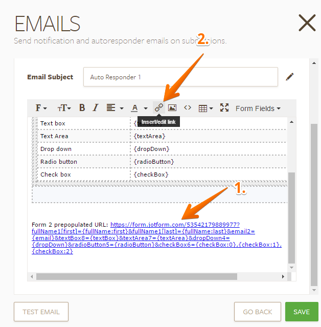 How to Automatically Pass Form Data to Another Form