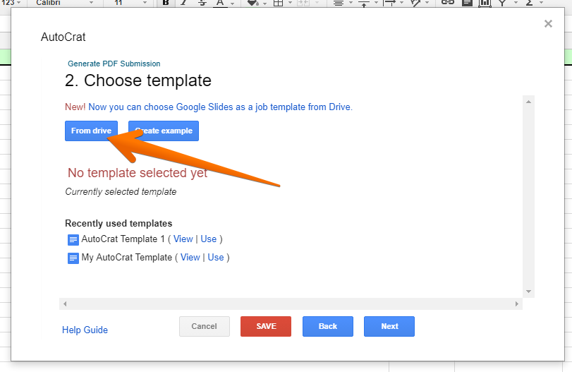 how to create a customized pdf or google doc for your submissions