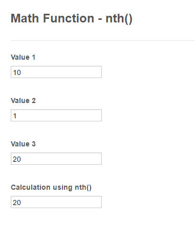 Form Calculation - Math Function Reference | JotForm