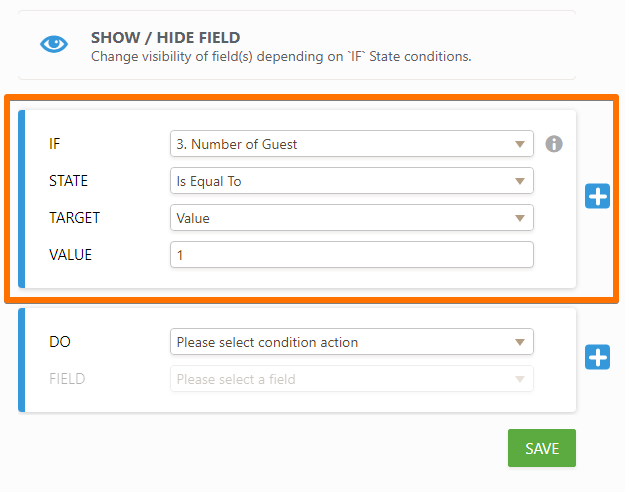 Show or Hide Multiple Fields at Once Using the Section