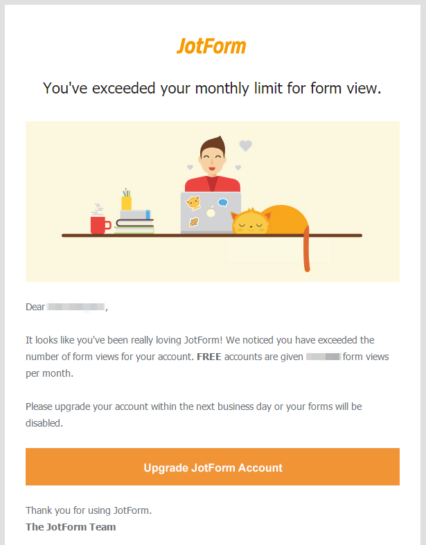Understaing Account Limits Form Views
