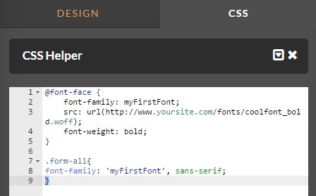 How to Use Google Fonts and Custom Fonts in your Form