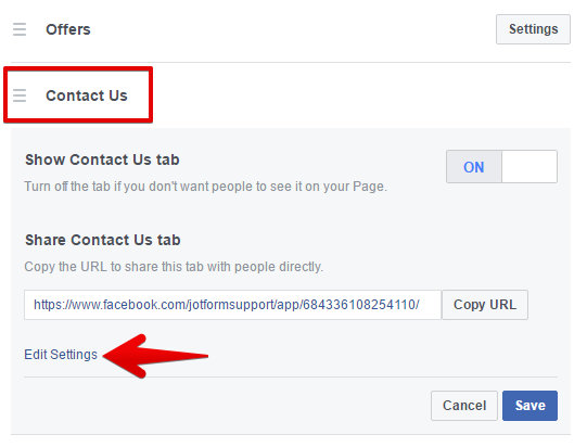 Adding a Contact Form to Your Facebook Page