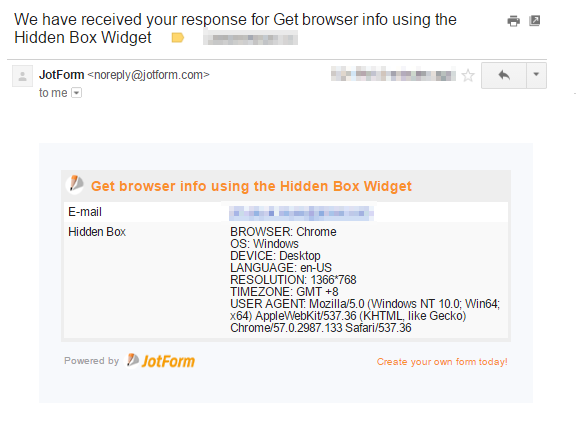 How to Catch User's Browser Info