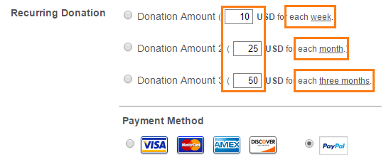 Setting up a Custom Recurring Donation Form | JotForm