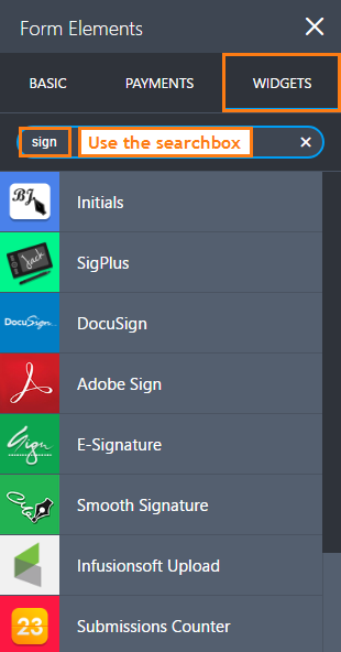 How to Add an E-Signature to Your Form