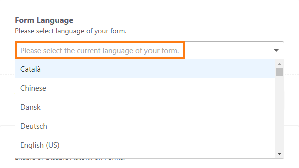How to Make Your Forms Multilingual