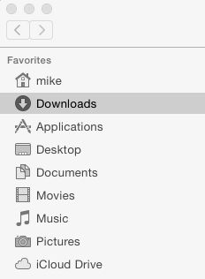 Mac Downloads Folder