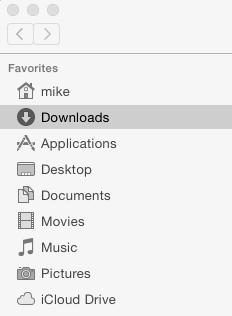 Mac Downloads Folder