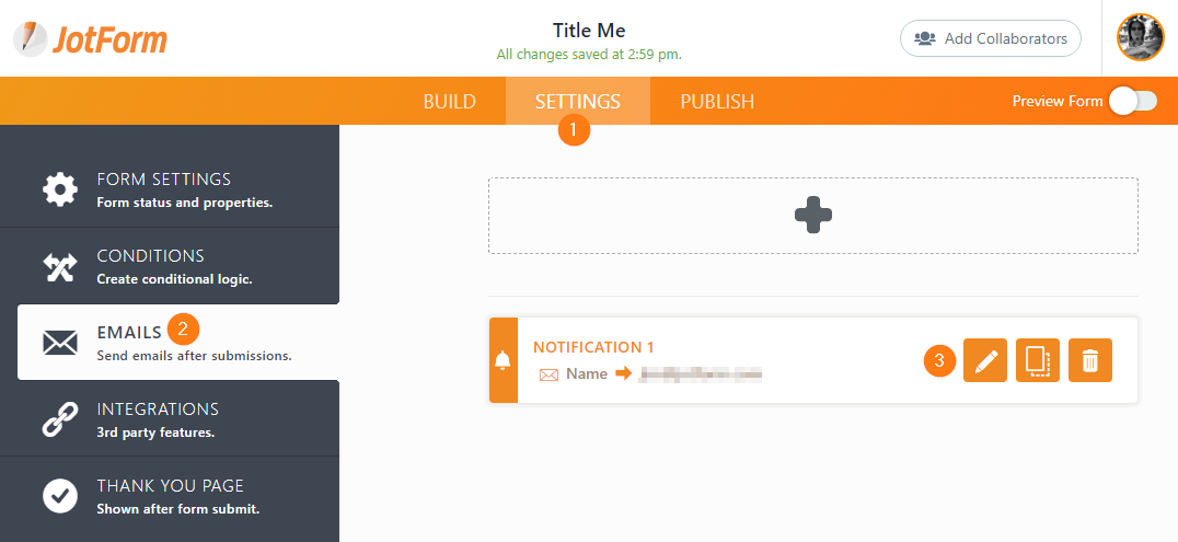 Send Notifications to Multiple Recipients | JotForm