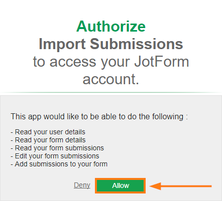 import app easily import your excel or csv data into jotform