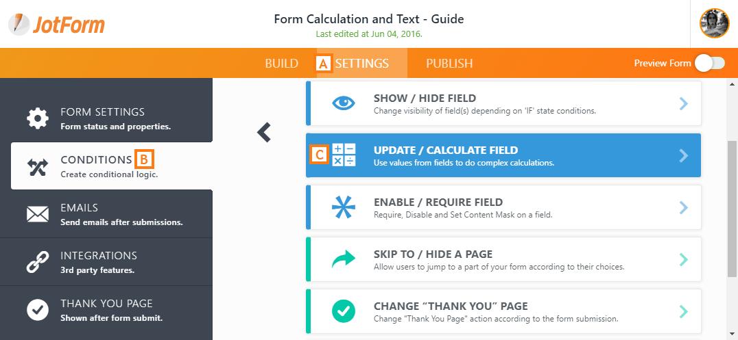 Update/Calculate Field