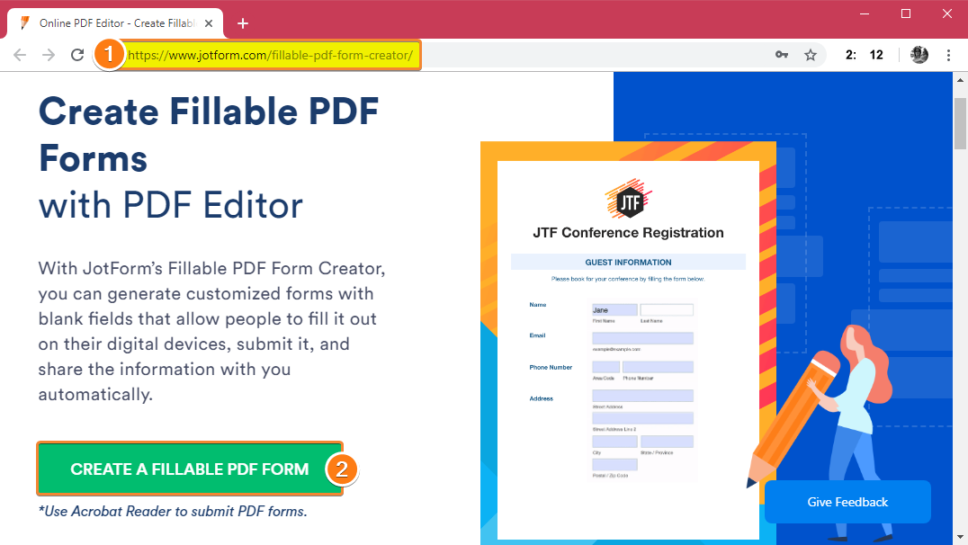 How Can I Import My Own PDF to JotForm?