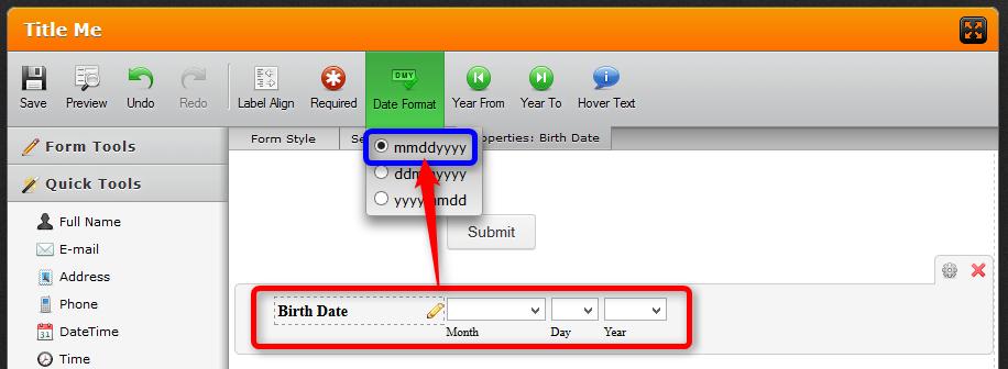 Mailchimp] Birthday field integration request