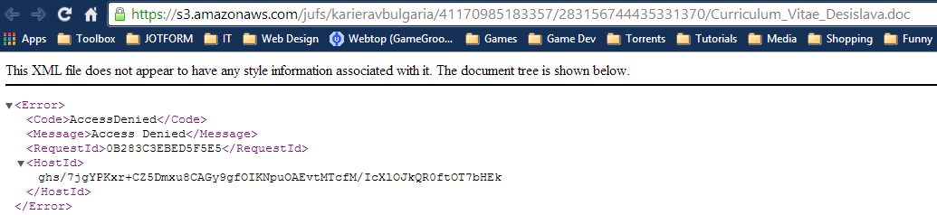 Bug - Access Denied to Submission Document