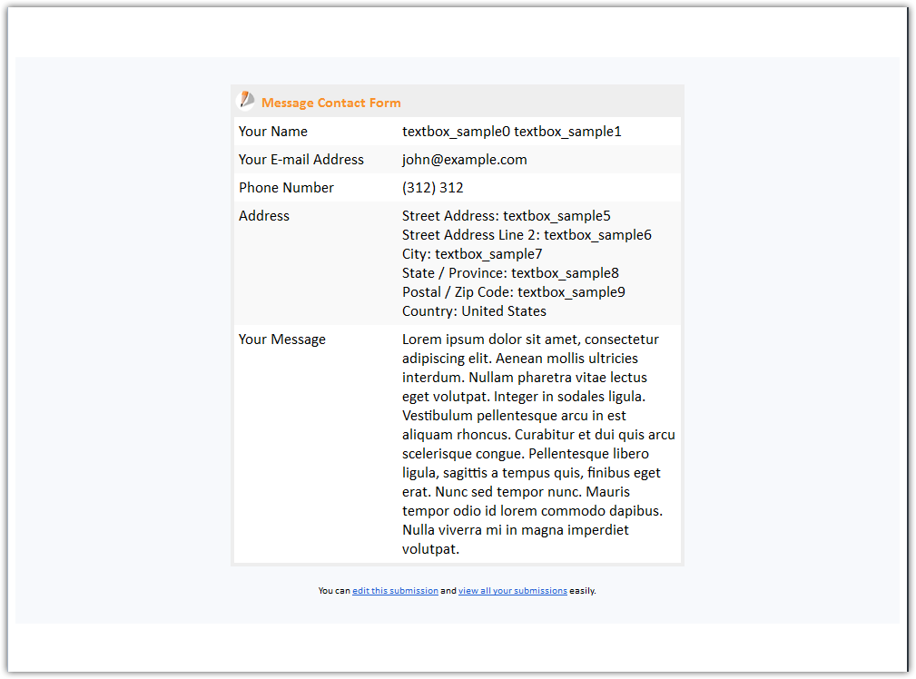 Will Email Notifications Appear Like The Filled Forms Jotform