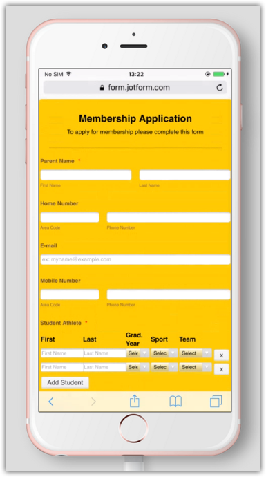 Adjusting width of Configurable List to fit on iphone form