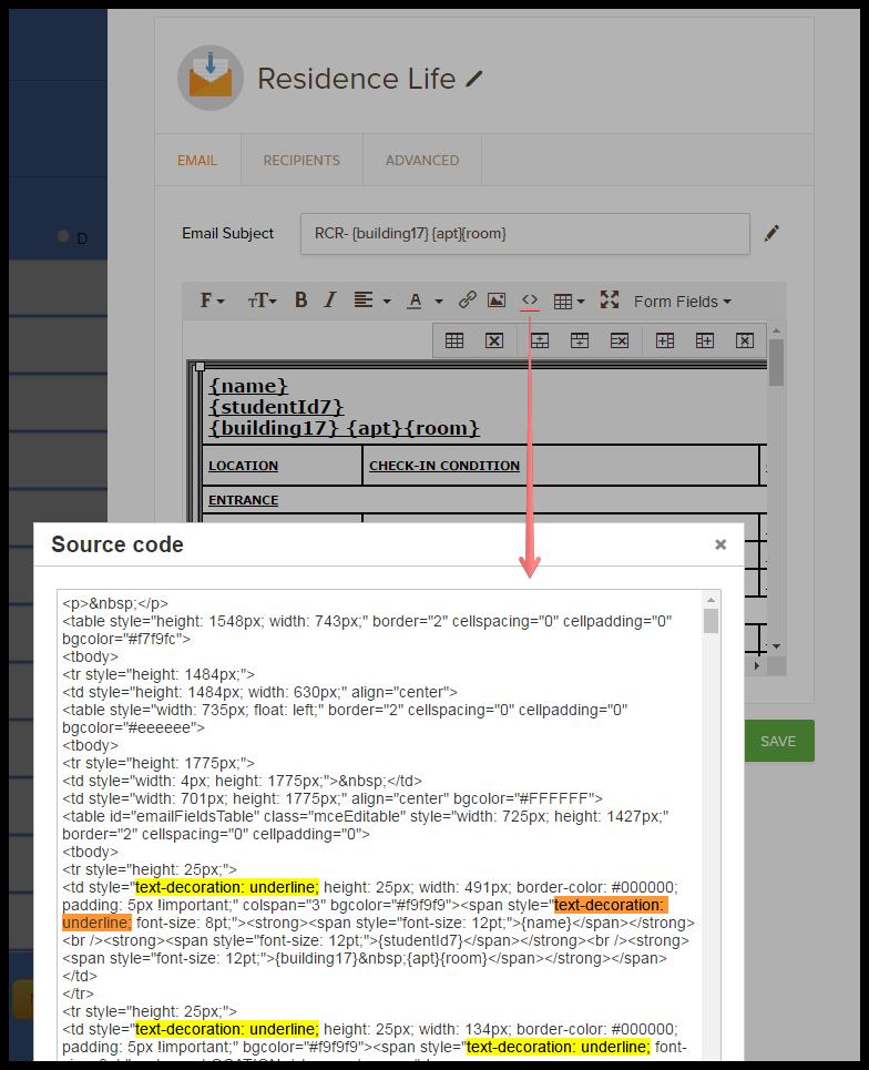 Ctrl + U keyboard shortcut not working in email editor