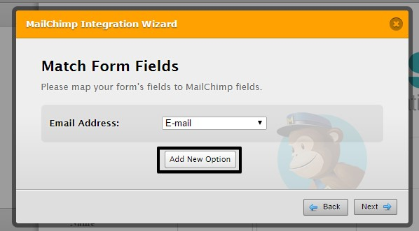 jotform how to send only complete payments to mailchimp