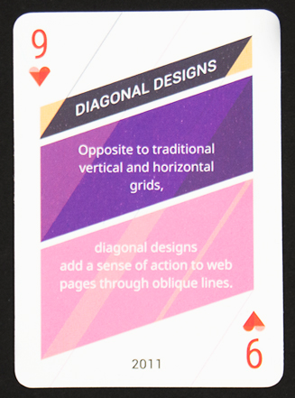 Sample TemplateMonster Web Design Card