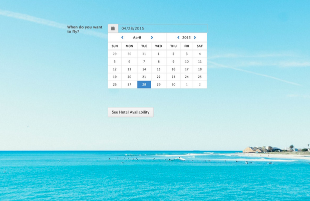 JotForm calendar