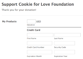 Donation Order Form
