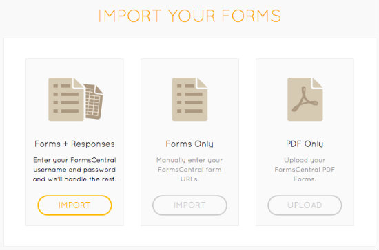Import Your Forms to JotForm