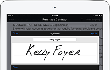 Adobe Signature Field