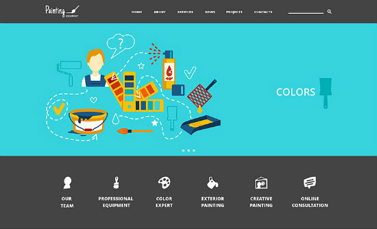 Home Renovation Joomla Theme