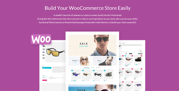 Woocommerce with Monstroid