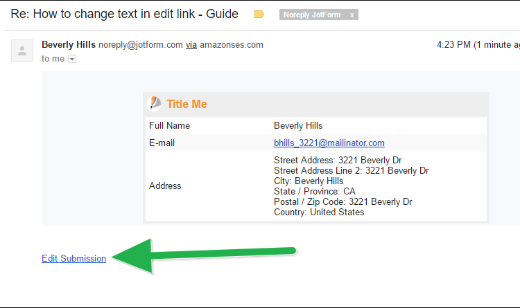How To Change The Text Of Edit Link In Your Email Alerts