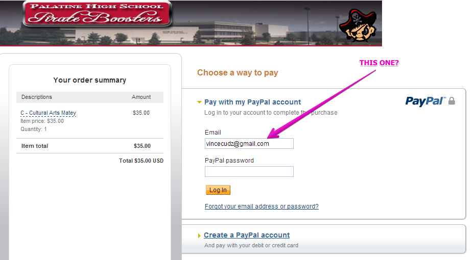What Is My Paypal Email >> Why Does My Paypal Email Address Appear When I Submit A Form