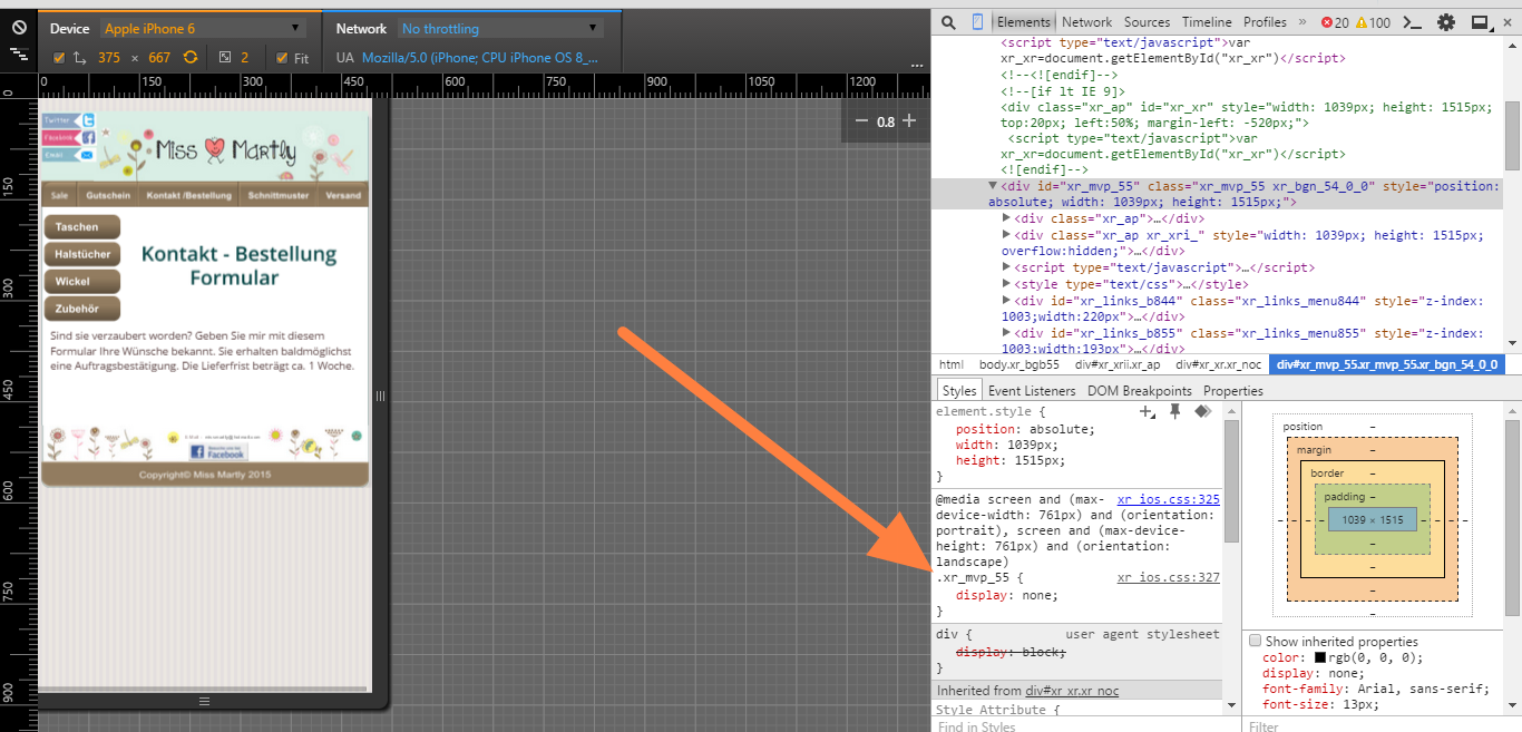 how to add moneris code into my website