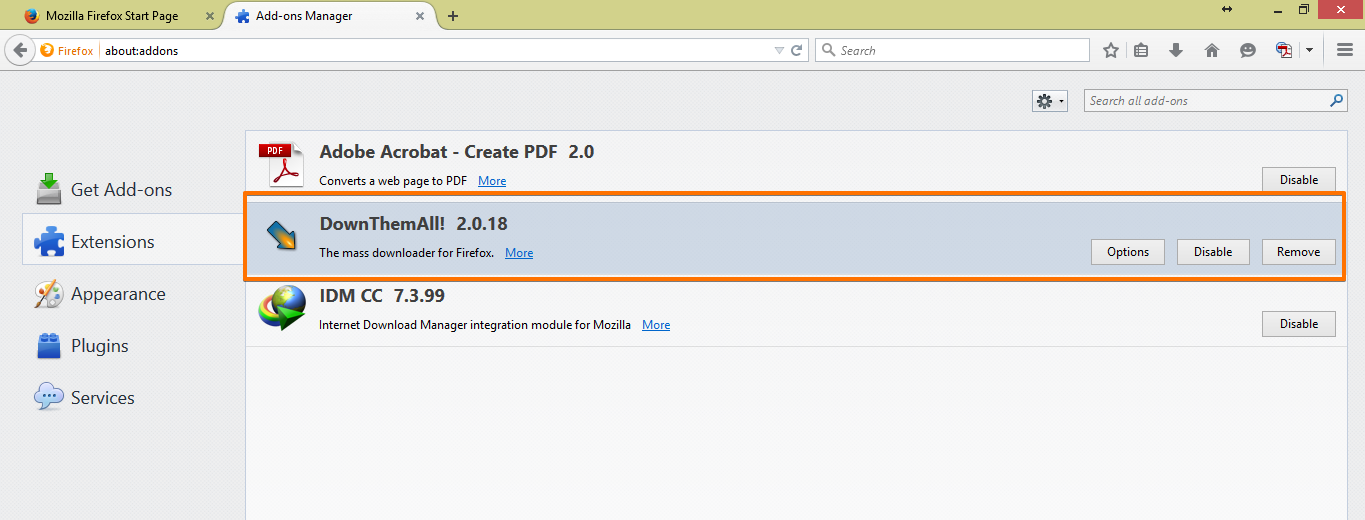 DownThemAll Mozilla Firefox Extension: Download Form Files | JotForm