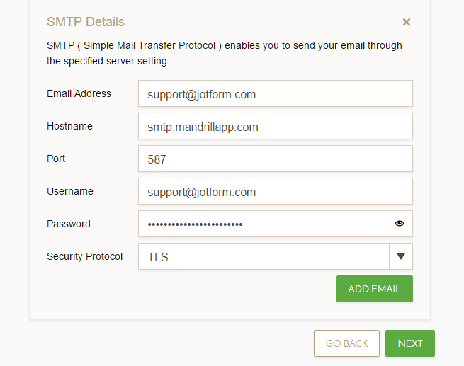 Set The Sender Email Address With Mandrill Account