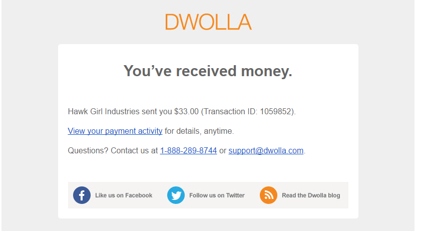 What Are The Steps When Someone Orders Over Dwolla Payment